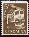 Stamps Romania -  1960 Transporte ferroviario