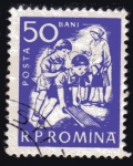 Stamps Romania -  1960 Guarderias