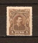 Stamps America - Honduras -  PRESIDENTE  LUIS  BOGRÁN