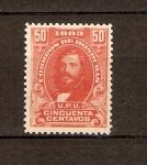 Sellos de America - Honduras -  GENERAL  SANTOS  GUARDIOLA