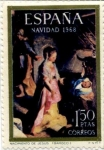 Stamps Spain -  Navidad '68