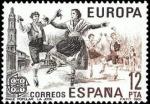 Stamps Spain -  ESPAÑA 1981 2615 Sello Nuevo Europa-CEPT. Jota Aragonesa Yvert2243 Scott2236