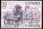 Sellos de Europa - España -  España 1981 2616 Sello ** Europa-CEPT. Romeria del Rocio Yvert2244 Scott2237