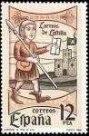 Sellos de Europa - España -  ESPAÑA 1981 2621 Sello Nuevo Dia del Sello Correos de Castilla Yvert2246 Scott2242