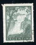 Sellos de America - Argentina -  catarata del iguazu