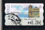 Stamps Spain -  Arquitectura postal   Cádiz