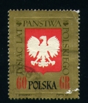 Stamps Poland -  Escudo
