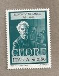 Sellos de Europa - Italia -  Edmundo de Amicis, escritor