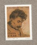 Sellos de Europa - Italia -  G. Guareschi, escritor