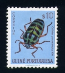 Stamps Africa - Guinea Bissau -  callidea panaethiopica kirk