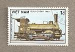 Stamps Vietnam -  Locomotora