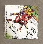 Stamps Vietnam -  Olimpiadas de invierno Albertville 1992