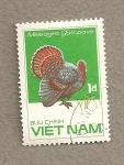 Sellos de Asia - Vietnam -  Pavo
