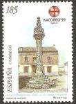Sellos de Europa - España -  3620 - Año Santo Compostelano Xacobeo 99, Rollo jurisdiccional de Boadilla del Camino (Palencia)