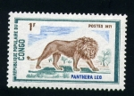 Stamps Africa - Republic of the Congo -  León