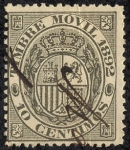 Stamps Europe - Spain -  Timbre móvil