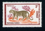 Stamps of the world : Republic of the Congo :  Leopardo