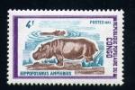 Stamps of the world : Republic of the Congo :  Hipopotamo