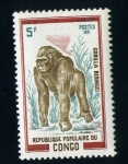 Stamps of the world : Republic of the Congo :  Gorila