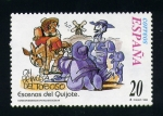 Stamps Europe - Spain -  escenas del quijote