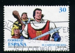 Stamps Europe - Spain -  el capitan trueno