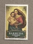 Stamps America - Antigua and Barbuda -  Virgen con niño