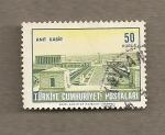 Sellos de Asia - Turquía -  Paisaje urbano