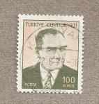 Stamps Turkey -  Kemal Atatürk