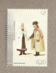 Stamps Europe - Slovenia -  Trajes típicos