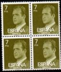 Stamps Spain -  1976 B4 Juan Carlos I Edifil 2346