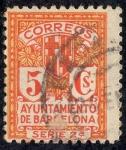 Stamps Europe - Spain -  Ayuntamiento de Barcelona
