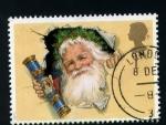 Stamps Europe - United Kingdom -  sello para cartas a papa noel