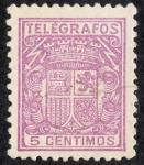 Stamps : Europe : Spain :  Telégrafos