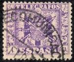 Stamps Spain -  Telégrafos