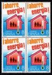 Stamps Spain -  Ahorro de energia