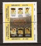 Sellos de America - México -  PLAZA  MÉXICO.  TOREROS