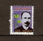Stamps Mexico -  JOSÉ  MARTÍ