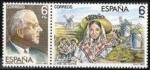 Sellos de Europa - España -  ESPAÑA 1983 2699/0 Sellos Nuevos Maestros de la Zarzuela Escena La Rosa del Azafran y Jacinto Guerre