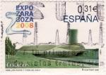 Sellos de Europa - Espa�a -  Expo Zaragoza 2008