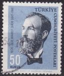 Stamps Asia - Turkey -  Recai Zade Mahmut Ekrem (1847-1914)