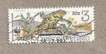 Sellos de Europa - Checoslovaquia -  Fundación Mundial Vida Salvaje