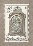 Sellos de Europa - Checoslovaquia -  Reloj siglo XVIII
