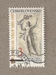 Stamps Czechoslovakia -  Universidad de Artes Aplicadas Praga