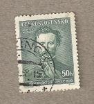 Stamps Czechoslovakia -  Jindrich Fügner, cofundador de Sokol
