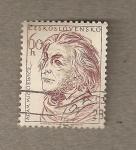 Stamps Czechoslovakia -  Adam Micklewiccz
