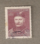 Sellos de Europa - Checoslovaquia -  Jindrich Vanicek