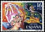 Sellos del Mundo : Europa : España :  ESPAÑA 1984 2744 Sello Nuevo Fiestas Populares Españolas Carnaval Santa Cruz Tenerife Yvert2357 Scot