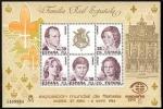 Sellos del Mundo : Europa : España : ESPAÑA 1984 2754 Sellos Nuevos HB Exposición Mundial de Filatelia ESPAÑA'84 Familia Real YvertB33 Mi
