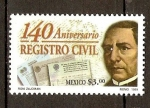 Stamps of the world : Mexico :  BENITO  JUAREZ