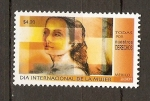 Stamps of the world : Mexico :  DÍA  INTERNACIONAL  DE  LA  MUJER